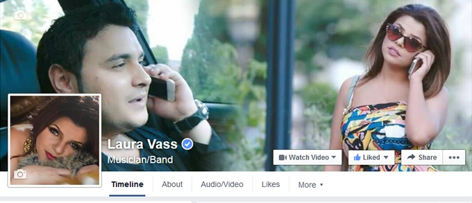 Laura Vass reached 500k fans on facebook